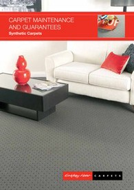 Download the Godfrey Hirst Synthetic Carpet Maintenance Guide