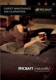 Download the HYCRAFT Wool Carpet Maintenance Guide
